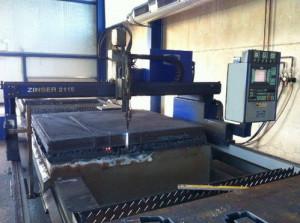 Автогенная портальная установка с CNC Zinser 2115