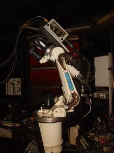 Компактный сварочный комплекс на базе робота REIS