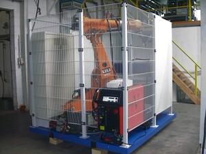 Сварочная роботизированная ячейка на базе робота KUKA