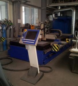 Установка плазменной резки Messer Cutting с CNC