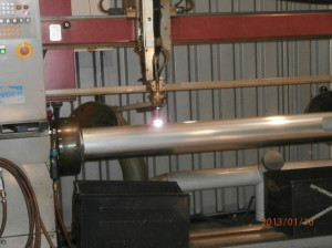 Установка плазменной резки труб Zinser