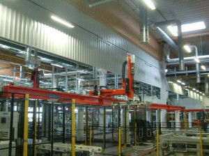 Транспортировочный роботизированный комплекс Reis RL 130