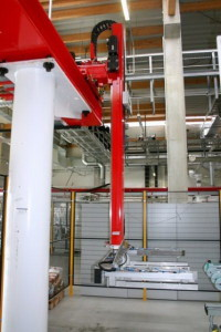 Транспортировочный роботизированный комплекс на базе робота REIS RL 300