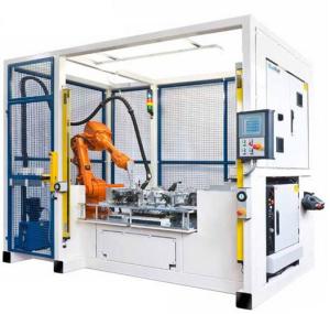 Робот ABB для склеивания деталей
