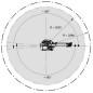 Паллетировочный робот KUKA KR 100-2 PA зона досигаемости