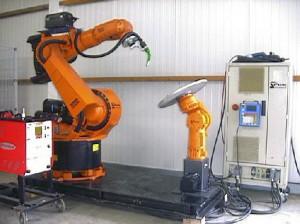 Роботизированный сварочный комплекс KUKA VK IR 360