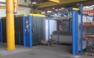 Роботосварочный комплекс SMT RWS 2100 с двумя позиционерами на базе робота KUKA KR 6 arc