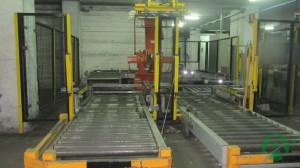 Линия паллетирования и упаковки мешков на базе робота АВВ IRB 6660 PM