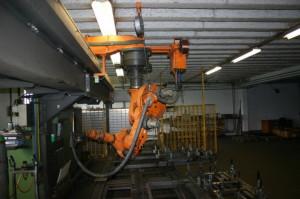 Портальный сварочный комплекс на базе робота KUKA