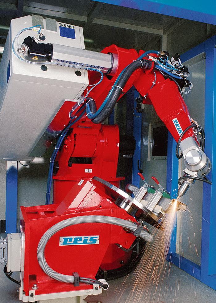 Роботы для лазерной резки