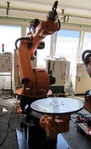 Роботизированная сварочная ячейка на базе робота KUKA VK 360