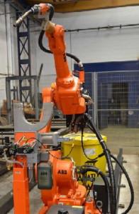 Сварочный робототехнический комплекс на базе робота ABB IRB 1600 M2004