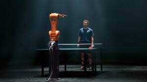 KUKA KR AGILUS - самый быстрый робот на земле и звезда настольного тенниса Timo Boll